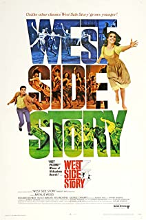 WEST SIDE STORY MOVIE POSTER PRINT APPROX MAAT 12X8 inch