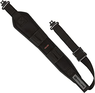 Allen BakTrak Bullet Rifle Sling with Cartridge Loops and Swivels, Black