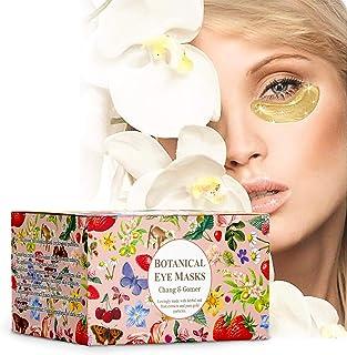 (30 Pairs) Botanical 24K Gold Eye Masks | 24 Karat Gold, Green Tea, Butcher's Broom, Hyaluronic Acid, Colla...