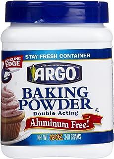 Argo Double Acting Baking Powder 12 oz (2 Pack)