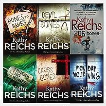 Temperance Brennan Series 2 Collection 6 Books Set By Kathy Reichs (Monday Mourning, Cross Bones, Break No Bones, Bones to...