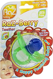 Raz-Berry Silicone Teether (Pack of 18)