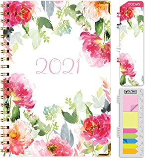 """$25 » HARDCOVER 2021 Planner: (November 2020 Through December 2021) 5.5""""x8"""" Daily Weekly Monthly Planner Yearly Agenda. Bookmark..."""