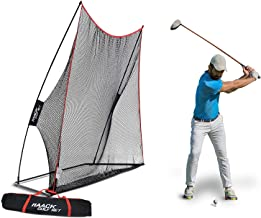 Rukket 10x7ft Haack Golf Net   Practice Driving Indoor and Outdoor   Golfing at Home Swing Training Aids   by SEC Coach Chris Haack
