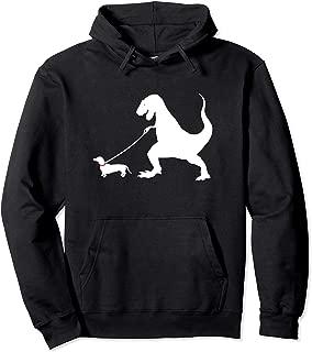 Cute Dachshund Dinosaur Funny Wiener Dog Hoodie Shirt