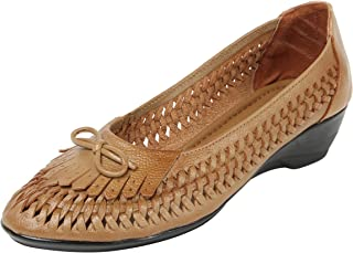Catwalk Tan Ballerina for Women