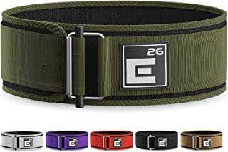 Self-Locking Weight Lifting Belt - Premium Weightlifting Belt for Serious Functional Fitness, Weight Lifting, and Olympic ...