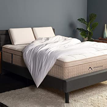 DreamCloud Full Mattress - Luxury Hybrid Mattress with 6 Premium Layers - CertiPUR-US Certified - 180 Night Home Trial