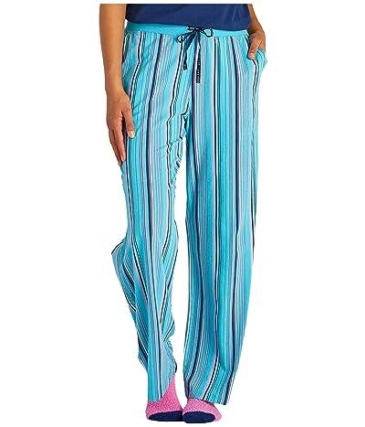 Life is Good Snuggle Up Sleep Pants (Coastal Blue) Women