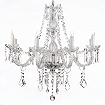 Best modern crystal chandelier with 6 lights Reviews