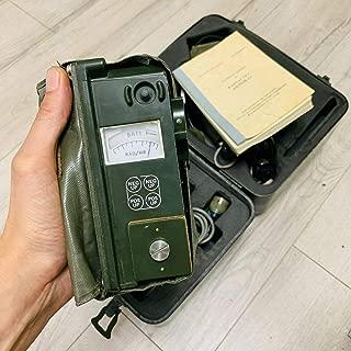 USA Military PDR-63 Portable Radiac Meter/Geiger Counter Full kit! Dosimeter