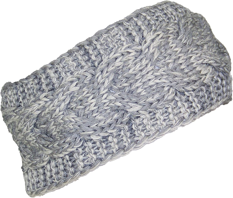 Best Winter Hats Loose Cable Knit Headband/Ear Warmer Womens (One Size)