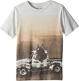 Lucky Brand Kids - Bear Truck Short Sleeve Tee (Big Kids)