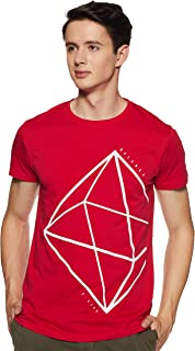 Lee X-Line Men's Solid Slim fit T-Shirt