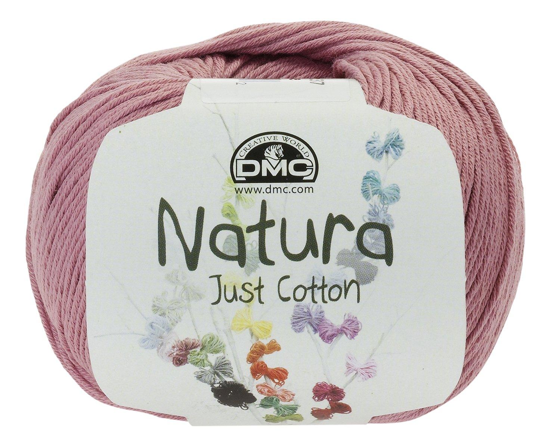 DMC Ovillo de Hilo Natura, 100% de algodón, en Color Rosa Palo N07 ...