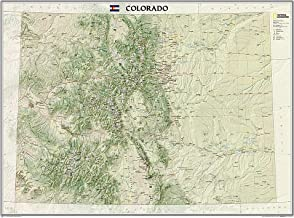 National Geographic: Colorado Wall Map (40.5 x 30.25 inches) (National Geographic Reference Map) PDF