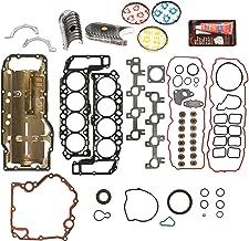Evergreen Engine Rering Kit FSBRR8-30400EVE000 Fits 99-03 Dodge Dakota Durango Jeep 4.7 SOHC Full Gasket Set, Standard Size Main Rod Bearings, Standard Size Piston Rings