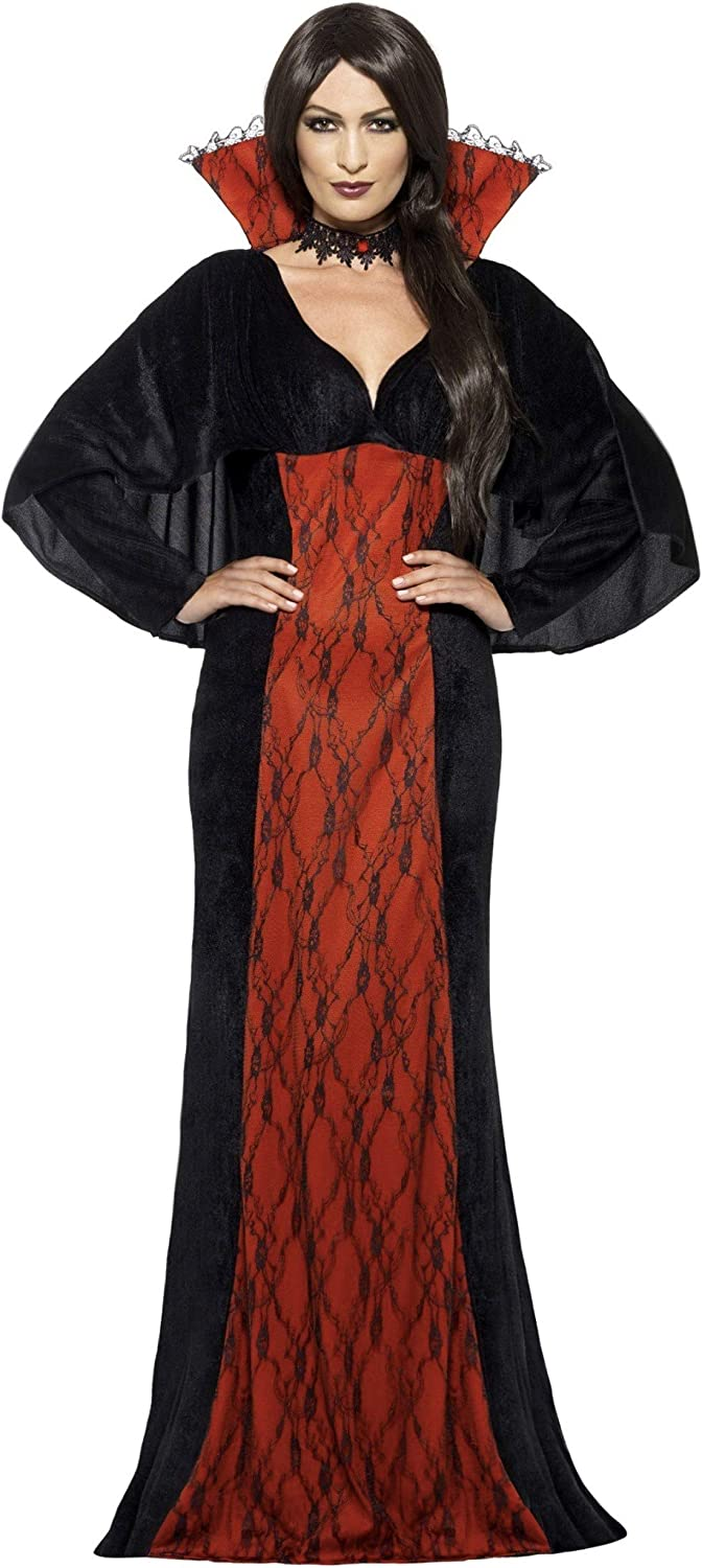 Smiffys Women's Mystifying Vamp Sales of SALE items from new works Dress and Regular store Cape Costume