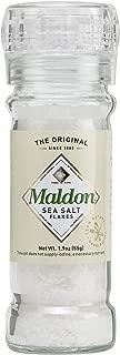 Maldon Salt Company, Sea Salt Refillable and Adjustable Grinder, 55 gram