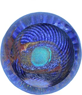 Glass Eye Studio Paperweight, Celestial Series, God's Eye, 517F