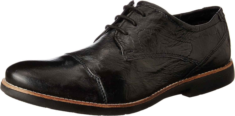 Ruosh Men's Black Formal shoes-9 UK India (43 EU)(AW18 Mattia 01D)