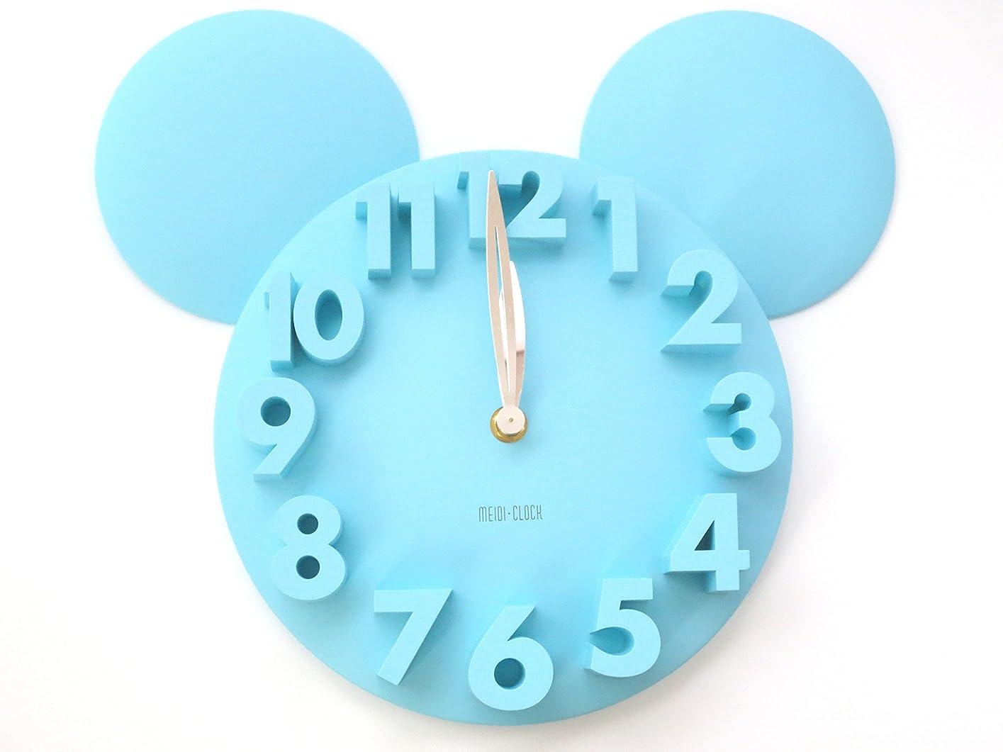 セットするピボット送る掛け時計 3D ウォール クロック / 壁掛け 時計 アニマル シルエット 軽量 タイプ