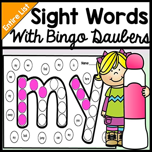 Sight Word Activities with Bingo Daubers {220 Pages!} {Literacy Centers}
