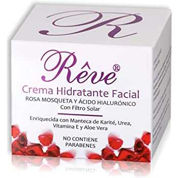 REVE pack - Crema Facial Vitamina C + Sérum Hialurónico y Vitaminas A, C y E + 6 Ampollas Proteoglicanos ...