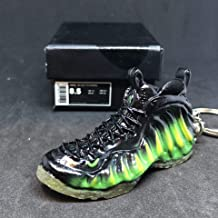 Air Foamposite One Pro NRG Paranorman Neon Green Penny OG Sneakers Shoes 3D Keychain 1:6 Figure + Shoe Box