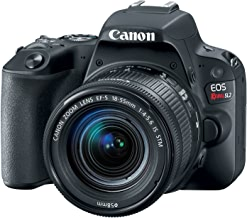 $509 Get Canon EOS Rebel SL2 with 18-55mm Digital SLR Camera Kit 2249C002 (Renewed)