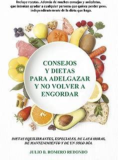 Consejos y dietas para adelgazar y no volver a engordar (