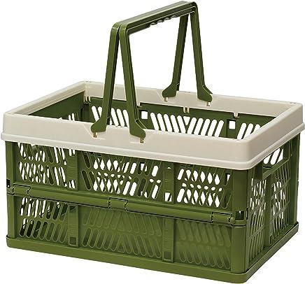 折叠 堆叠 容器盒 绿色 Large 400730003
