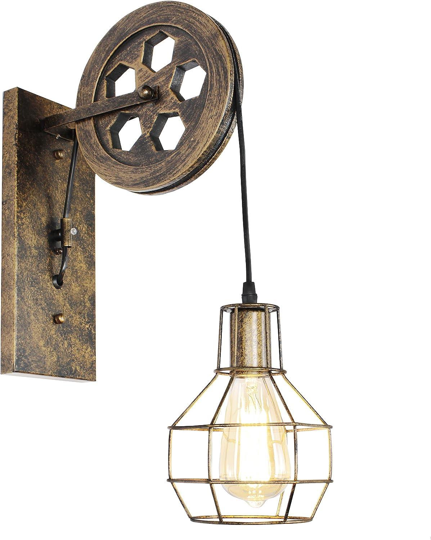 LIGHXSDZ Max 76% OFF Farmhouse Max 79% OFF Wall Sconce Vintage Light L 1-Light