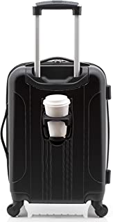 "Travelers Club 20"" Smart Carry-on Expandable Spinner Luggage"
