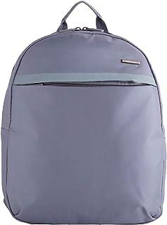 CARPISA® Nesa - Zaino da Viaggio Zipack Compatto Porta Tablet e Pc con Tasche Esterne e Spallacci Morbidi