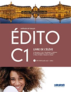 EDITO C1 ELEVE+DVD ROM ED.18 (Edito C1 2018)