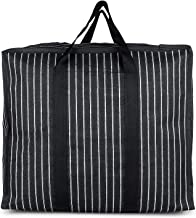 Sanjis Enterprise Canvas & Polyester Strong Handles and Base Heavy Bag/Multipurpose Storage Organizer and With Zipper On T...