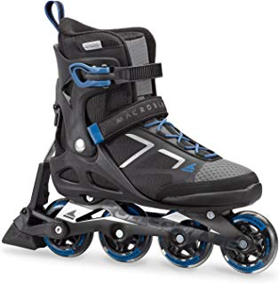 Rollerblade Macroblade 80 ABT Men's Adult Fitness Inline Skate, Black and Blue, Performance Inline Skates