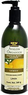 Avalon Organics Lotion H&B Lemon