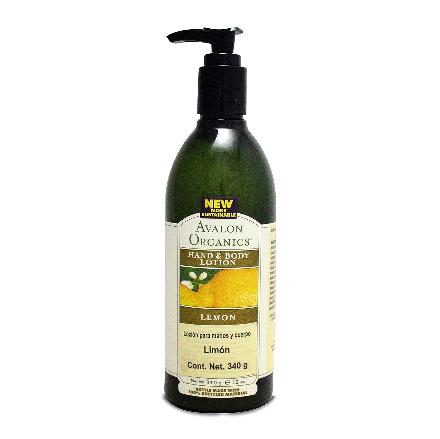 正確さミキサー荒野Organics Hand and Body Lotion Lemon - 12 fl oz by Avalon