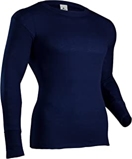 Men's Polypropylene Performance Rib Knit Thermal Underwear Top