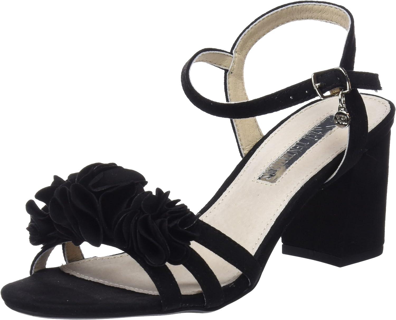 XTI TENTATIONS Women's shoes Low Heel Sandals 30714 Black