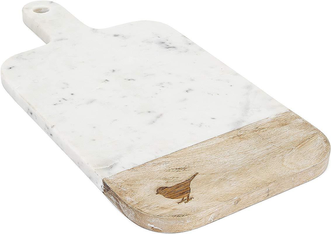 Imax TY Trisha Yearwood Home 95804 Songbird Marble Cutting Board