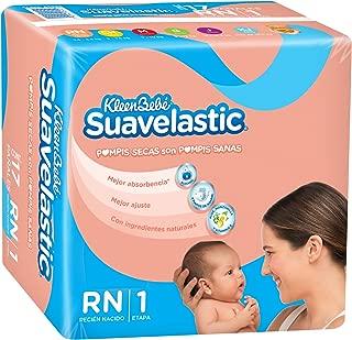 KleenBebé Suavelastic Max, Unisex, Recién Nacido, 136 Pañales