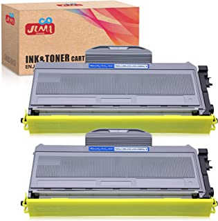 JIMIGO Compatible Toner Cartridge Replacement for Brother TN360 TN-360 TN330 TN-330 High Yield Toner for Brother HL-2170W HL-2140 MFC-7840W MFC-7340 MFC-7345N DCP-7040 DCP-7030 DCP-7045N (2 Black)