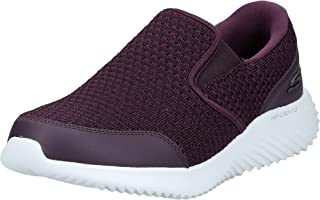 حذاء ركض Skechers Bounder Mens Road للرجال، أسود، 9 UK (43 EU)