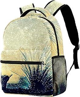 Dog German Shepherd Lightweight School Classic Backpack Travel Rucksack for Women Teens