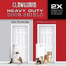 CLAWGUARD Heavy Duty Door Shield by Ultimate Door and Door Frame Scratch Protector