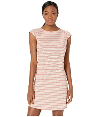 NAU Kanab Cap Sleeve Dress (Rosen Stripe) Women