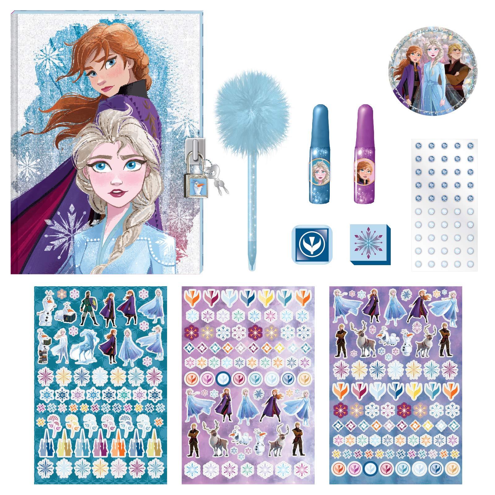 Disney Frozen 2 Journal Linen Anna and Elsa Diary